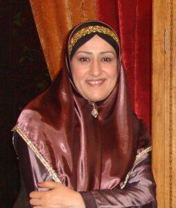 لباس سنتی فاطمه هاشمی