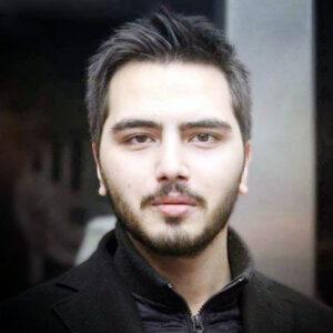 تیپ مشکی علی طباطبایی