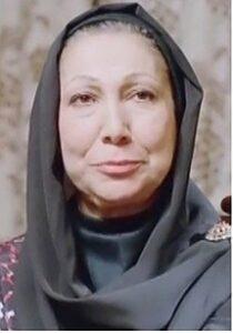 تیپ مشکی جمیله شیخی