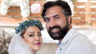 تصویر از عکسهای دو نفره بازیگران زن با همسرانشان