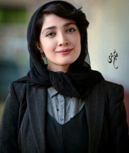 تیپ مشکی مینا ساداتی