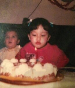 عکس دوران کودکی آناهیتا درگاهی