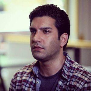 ارسطو خوش رزم از بازیگران سریال خانه امن در نقش محسن