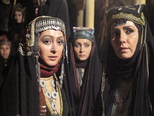 فریبا کوثری و الهام حمیدی در سریال مختارنامه