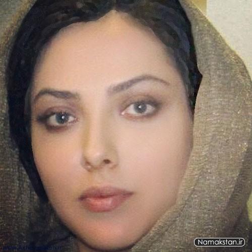 لیلا اوتادی با شال طلایی - عکس های بدون آرایش لیلا اوتادی