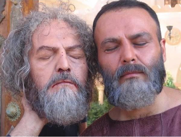 گریم بازیگر مختارنامه فریبرز عرب نیا