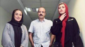 سعید آقاخانی و ریحانه پارسا و بهاره افشاری