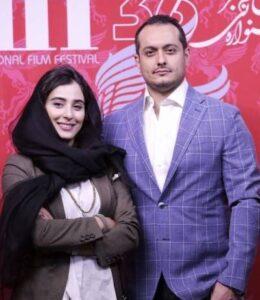 آناهیتا افشار در کنار همسرش