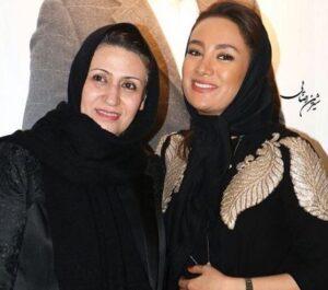 عکس بهاره افشاری به همراه مادرش