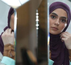 روژین رحیمی طهرانی از بازیگران سریال خانه امن در نقش فرشته