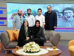 ریحانه پارسا در برنامه ایرانیوم مجید افشاری
