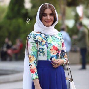 لباس آبی متین ستوده