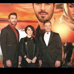 مراسم افتتاحیه فیلم ترانه عاشقانه برایم بخوان در استانبول با حضور افسانه پاکرو