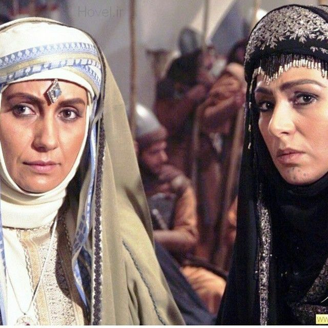 فریبا کوثری و نسرین مقانلو در سریال مختارنامه