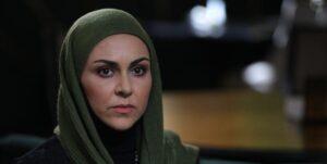 شیوا ابراهیمی از بازیگران سریال خانه امن در نقش مهسا
