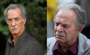 سیروس گرجستانی و سیاوش طهمورث بازیگران سریال شرم
