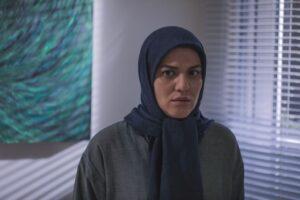 شایسته ایرانی از بازیگران سریال خانه امن در نقش یلدا