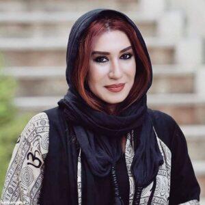 تیپ مشکی و زیبای نسیم ادبی بازیگر 44 ساله