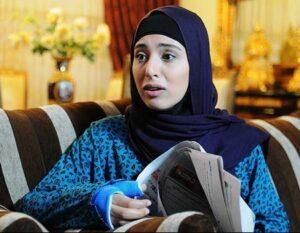 آناهیتا افشار در سریال مدینه