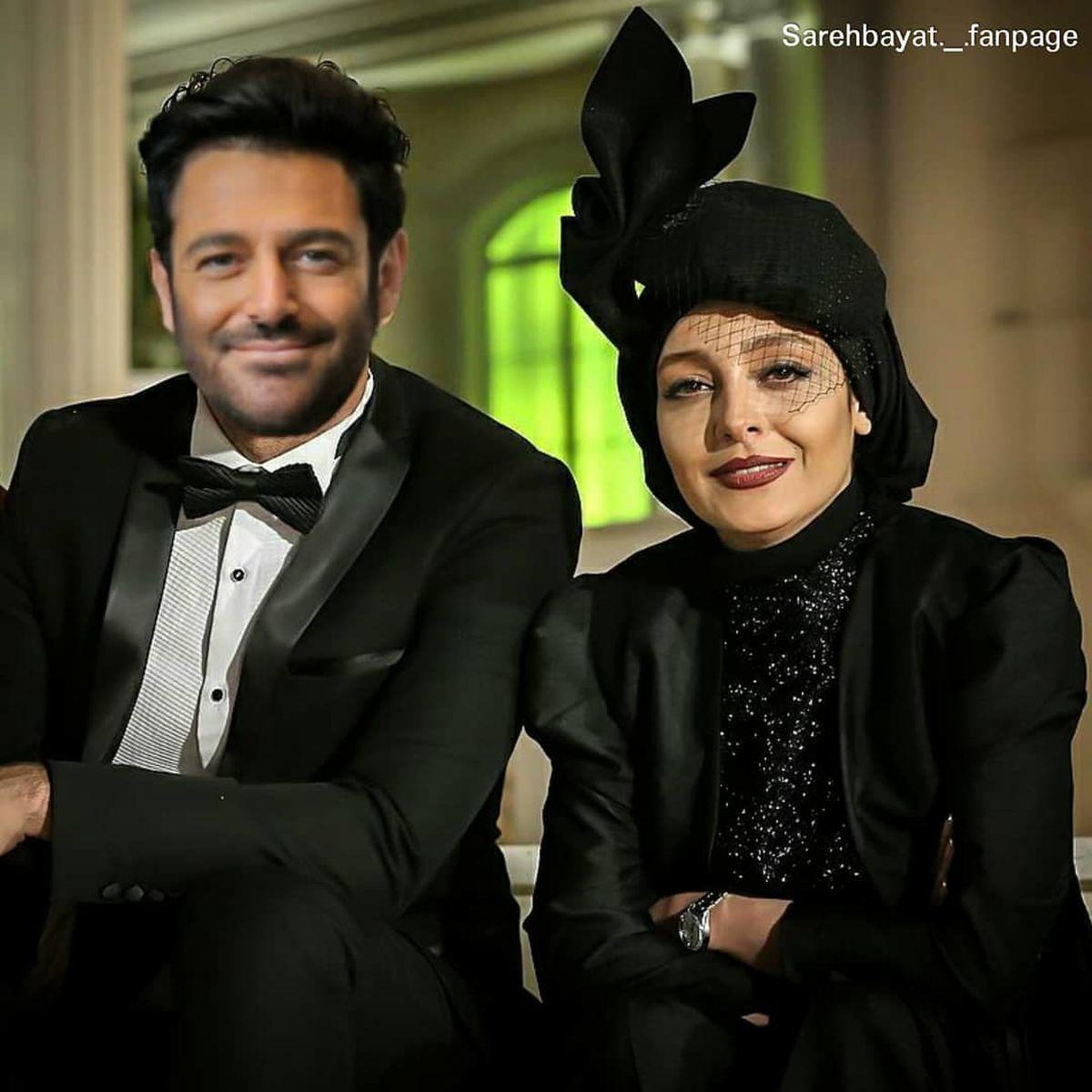 محمدرضا گلزار در کنار ساره بیات