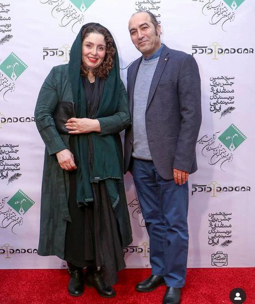 ژاله صامتی در یک مراسم - مدل مانتو بازیگران چاق ایرانی