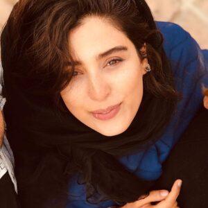 تیپ آبی آناهیتا افشار
