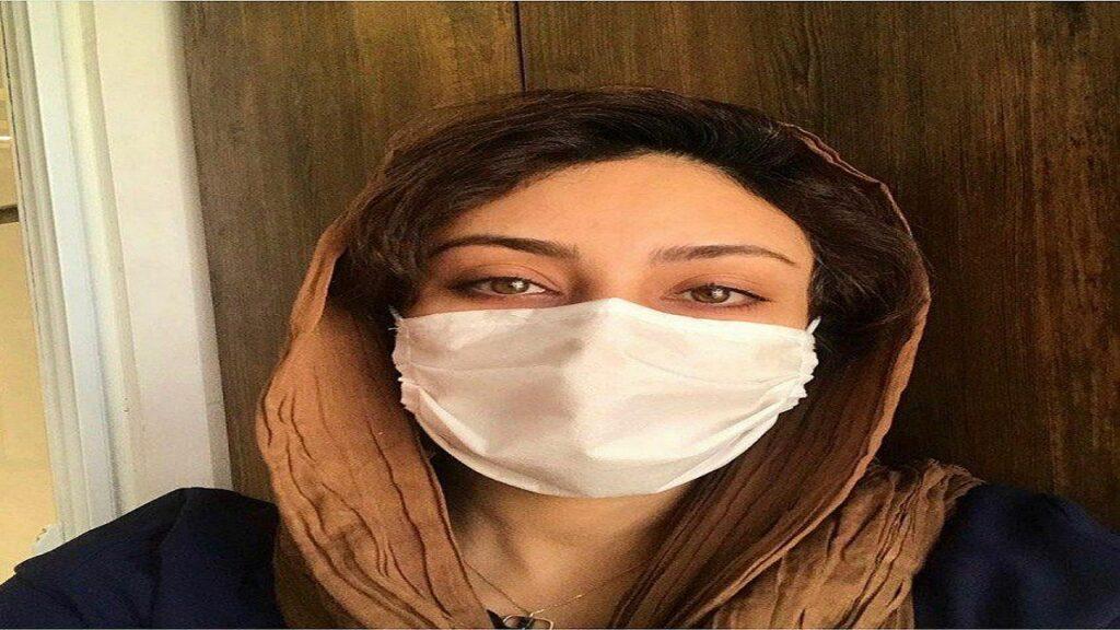 یکتا ناصر با ماسک و شال قهوه ای - عکس های بدون آرایش یکتا ناصر