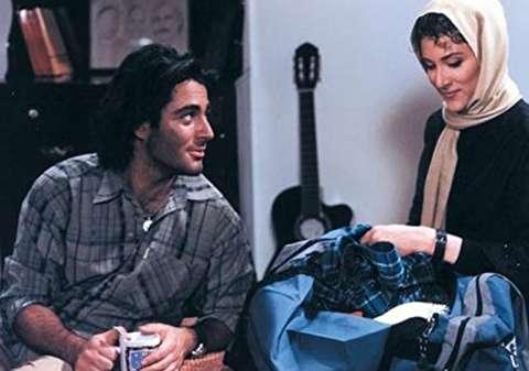 محمدرضا گلزار در فیلم گل یخ - عمل زیبایی محمدرضا گلزار