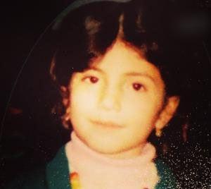 عکس کودکی بهارک صالح نیا