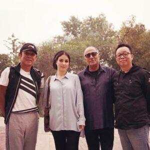همکاری افسانه پاکرو و کیا رستمی در فیلم عشق در هانجو