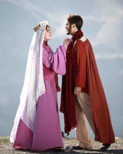 گریم افسانه پاکرو در نمایش هفت شهر عشق