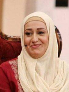 فاطمه هاشمی بازیگر 51 ساله در برنامه دورهمی