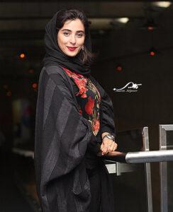 تیپ مشکی آناهیتا افشار