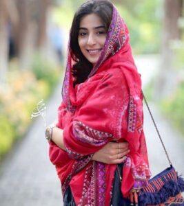 روسری زیبای سنتی آناهیتا افشار