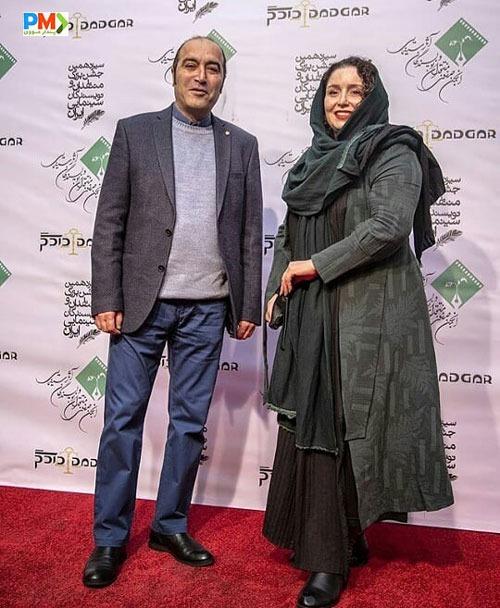 ژاله صامتی در مراسم - مدل مانتو بازیگران چاق ایرانی