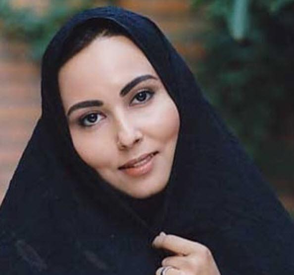 پرستو صالحی با چادر مشکی - عمل زیبایی پرستو صالحی