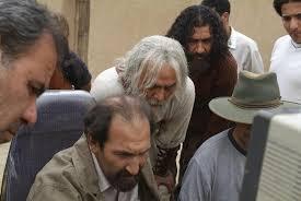 بازیگر مختارنامه فریبرز عرب نیا در پشت صحنه