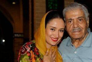 عکس بهاره افشاری به همراه پدرش پدرش