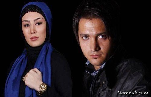 سحر قریشی و مهران اخوان در آتلیه