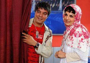 سعید آقاخانی و الیزابت امینی در پیتزا مخلوط
