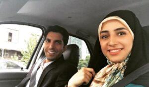 زهرا نعیمی از بازیگران سریال خانه امن در نقش زهره