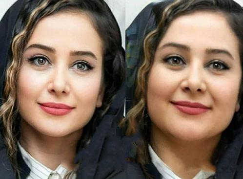 الناز حبیبی اگر چاق بود - بازیگران ایرانی اگر چاق بودند