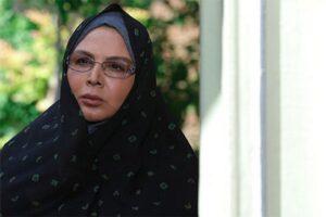 شهره سلطانی از بازیگران سریال خانه امن در نقش نسرین
