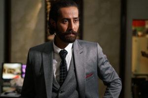 آرش آصفی از بازیگران سریال خانه امن در نقش داوودخان