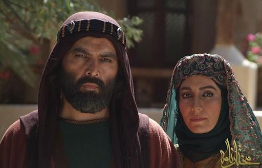 فریبا کوثری و فریبرز عرب نیا در سریال مختارنامه