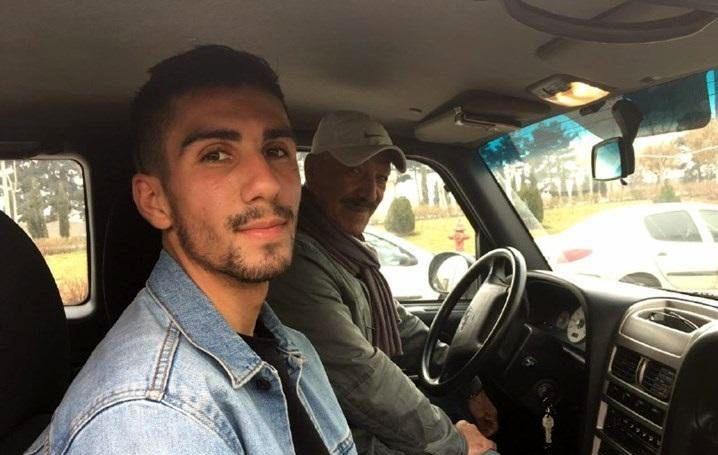 سعید راد و آدام همتی در ماشین - سعید راد پرسپولیس