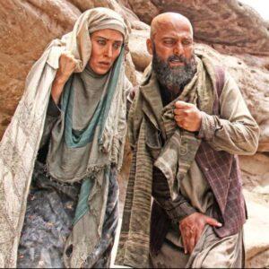 بازی حسین یاری و مهتاب کرامتی در فیلم مزار شریف