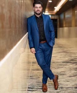 سام درخشانی از بازیگران مرد ایرانی بالای 40 سال