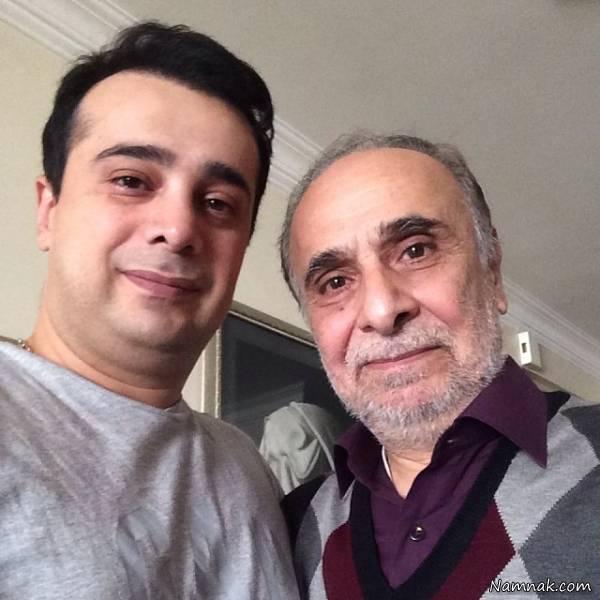 سعید امیرسلیمانی و پسرش سپند امیرسلیمانی
