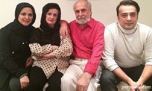 سعید امیرسلیمانی در کنار خانواده - سعید امیرسلیمانی و فرزندانش